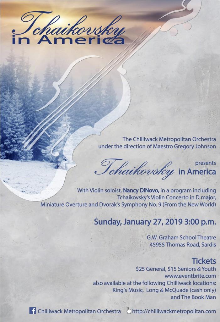 Tchaikovsky in America Poster