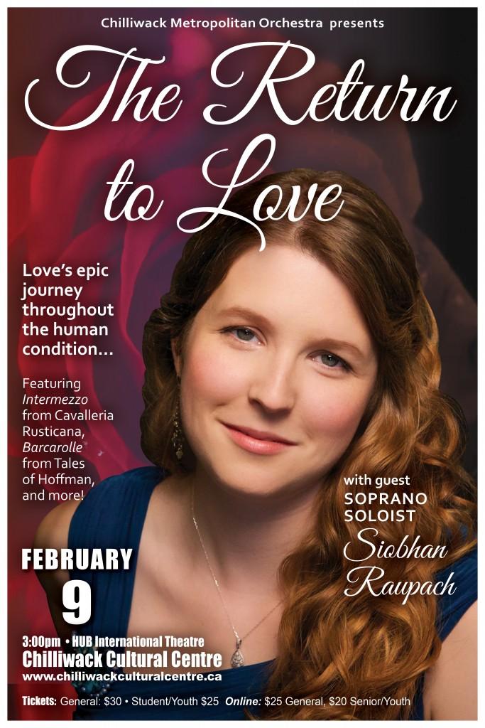 Featuring Guest Soprano Soloist Siobhan Raupach